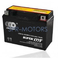 Аккумулятор мотоциклетный 12V 6,5Ah 12N6.5L-BS(GEL) OUTDO/LS (Гонконг), гелевый