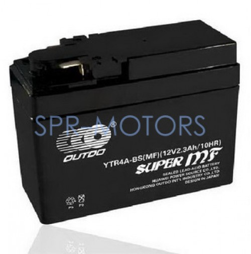 Аккумулятор плоский (батарейка) Honda YTR4A-BS OUTDO/LS (Гонконг)