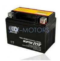 Аккумулятор (клеммы с болтами) 12В 4Ач YTX4L-BS OUTDO/LS (Гонконг)
