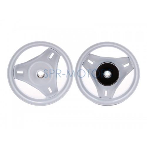 Диск колеса Honda Dio/Tact передний, бараб. торм.