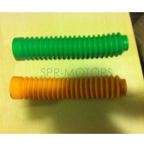 Пыльники (пара) для передних амортизаторов h=20см (мопед/мотоцикл)