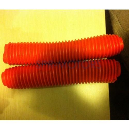 Пыльники (пара) для передних амортизаторов h=35см (мопед/мотоцикл)