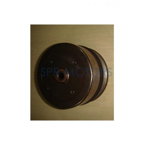 Муфта вариатора (сцепление) в сборе с ведомым шкивом Suzuki Address/Sepia (Тайвань)