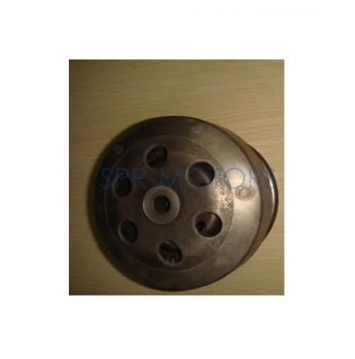 Муфта вариатора (сцепление) в сборе с ведомым шкивом Honda Dio AF18-28/Tact AF24-31 (Тайвань)